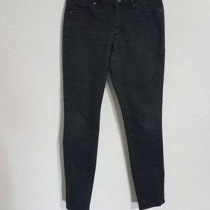 Ann Taylor LOFT black skinny/curvy jeans